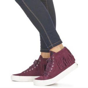 Vans Port Royal Sk8 Hi Sneakers 7.5 Red Wine